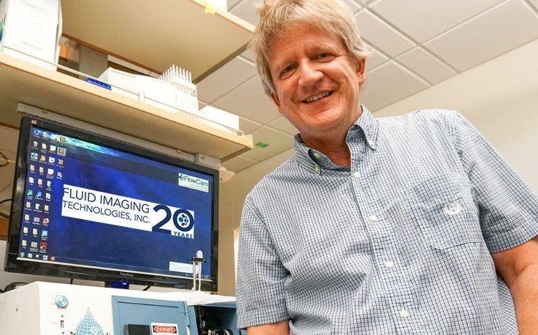 Dr. Ted Randolph FlowCam Nano