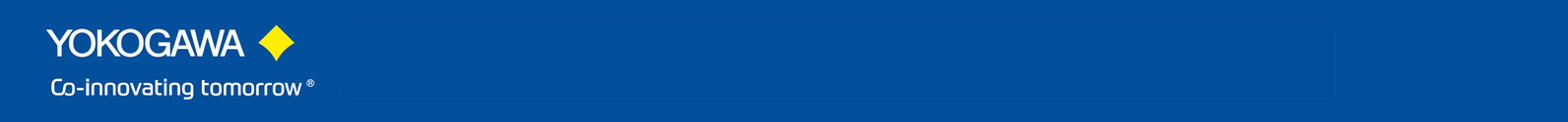 Yokogawa blue header 9.9.20 - 3
