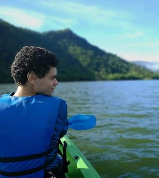 Zabdiel Roldan Ayala Kayak